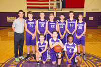 Basketball Boys MS B Purple